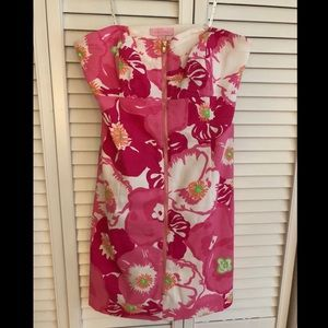 Strapless Zip Front Lilly Pulitzer Wesley Dress